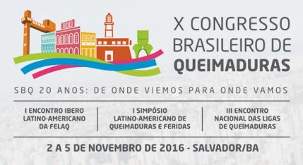 X Congresso Brasileiro De Queimaduras